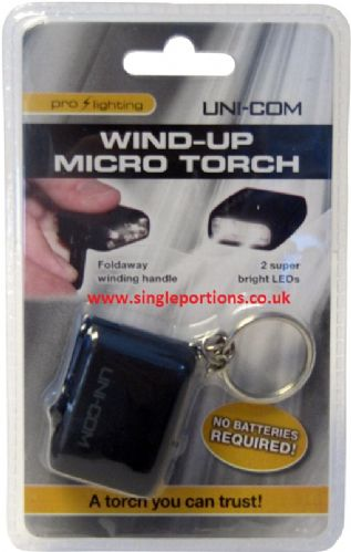 Wind-up Micro Torch